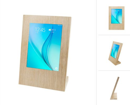 TabLines TTS Eiche Tischständer Samsung Tablets