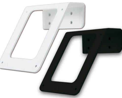 TabLines TWH001 Tablet Wandhalter, schwarz weiß