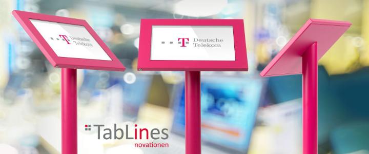 TSG Tablet Schutzgehäuse - Deutsche Telekom, pink