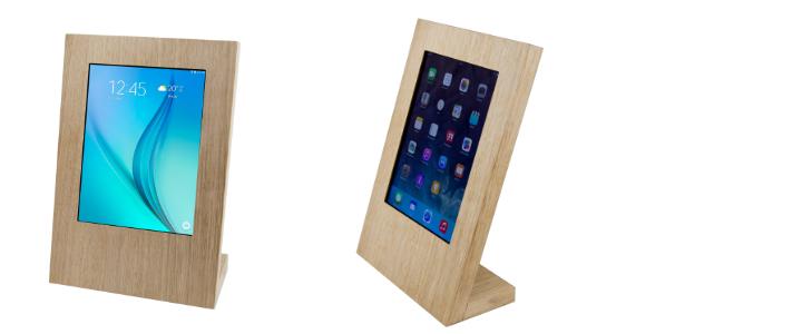 Tablet Tischständer TTS Eiche von TabLines