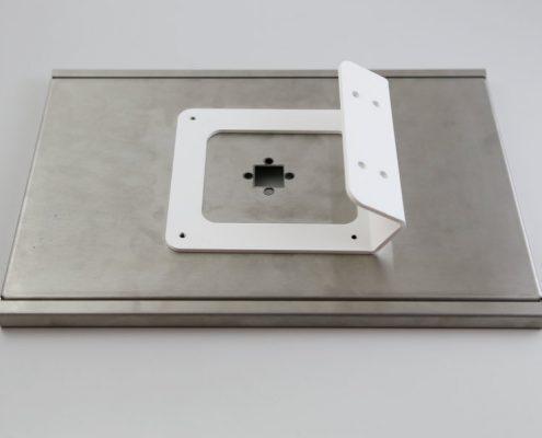 TabLines TTH001W Tablet Tischhalter, weiß