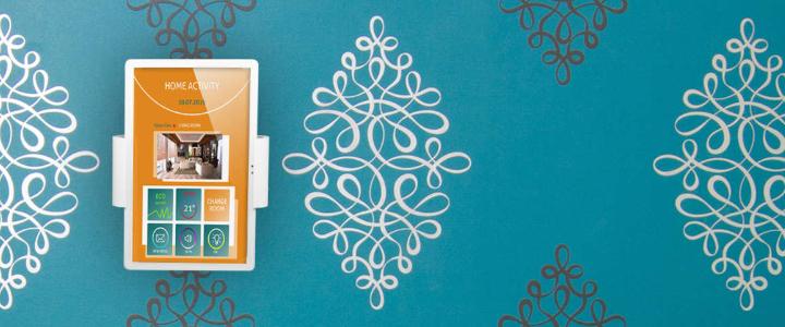 TabLines TWC001 Tablet Wandhalterung zur Smart Home Steuerung