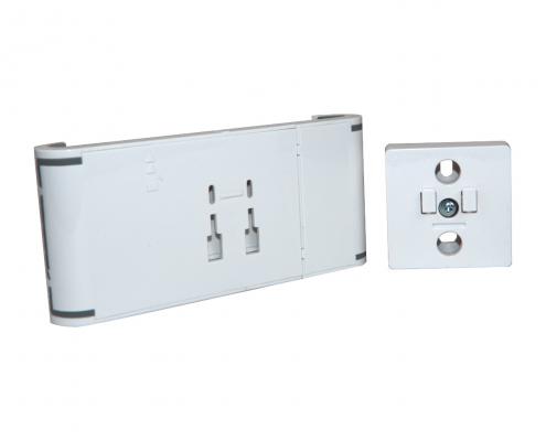 TabLines TWC001 flache Tablet Wandhalterung Click, einfache Installation