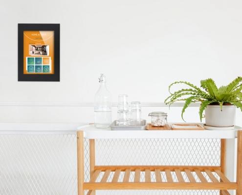 TabLines TWE Umbau-Set Hoch-/Querformat Fixierung Smart Home Anwendungsbeispiel