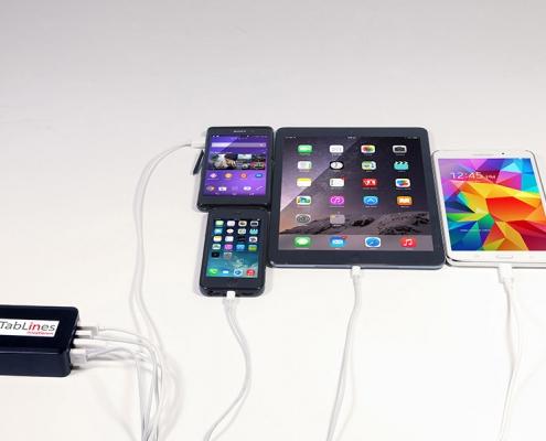 TabLines USB Port für 4 Geräte